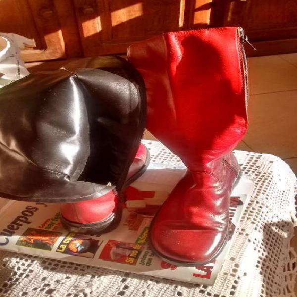 Vendo botas botin nros en Pigüé