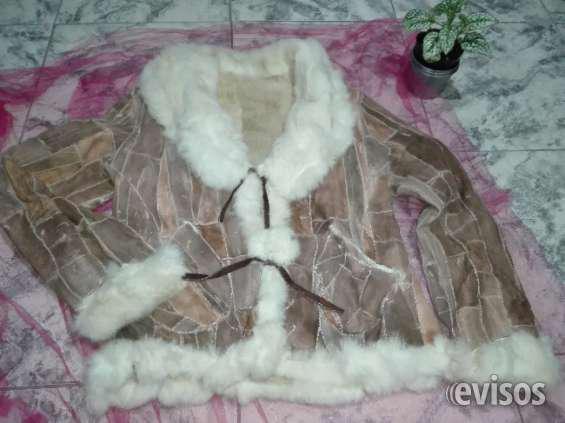 Vendo tapado y chaqueta de cuero y piel legítima en Lanús