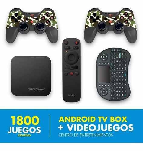 Xview Droid Box Play Convierte Tv Smart + Videojuegos Retro