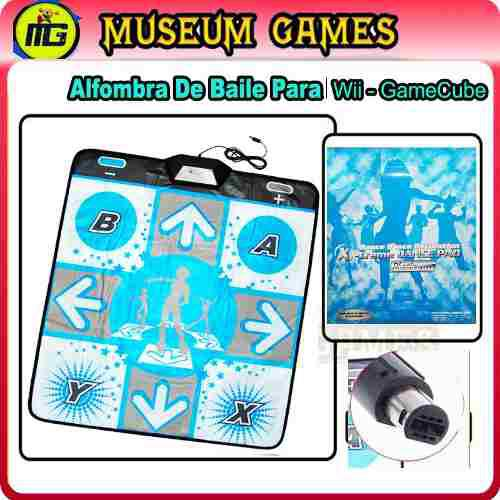 Alfombra De Baile Ddr Para - Wii - Game Cube -local -