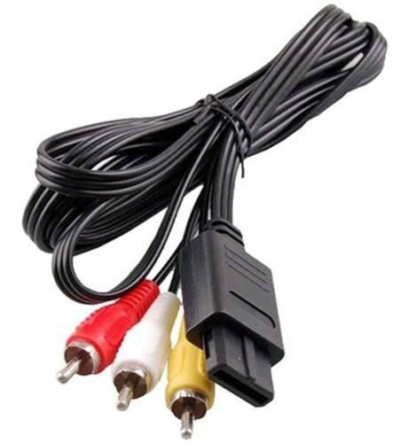 Cable Audio Y Videosuper Nintendo Gamecube Nes