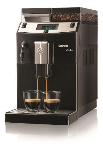 Cafetera Automatica Saeco Lirika Black