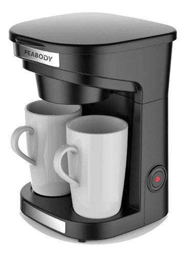 Cafetera Electrica Filtro Peabody Acero Inox 500ml + 2 Tazas