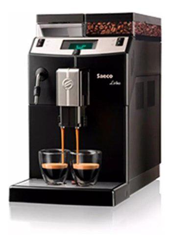 Cafetera Express Automatica Saeco Lirika Black