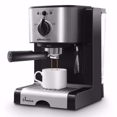 Cafetera Express Capuccino Espresso Ultracomb Ce-6109 19 Bar