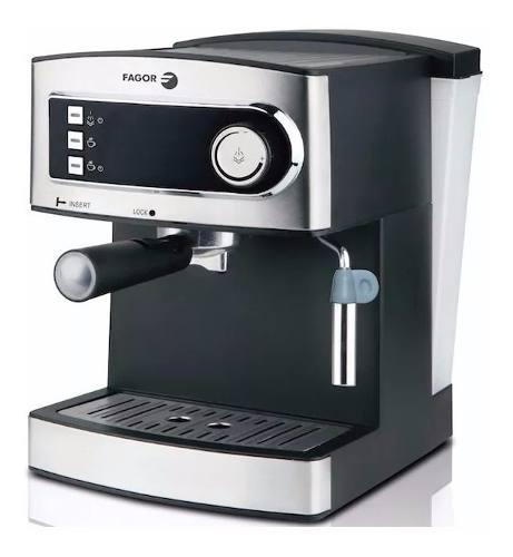 Cafetera Express Fagor - 20 Bares - 1,6 Lts - Con Espumador