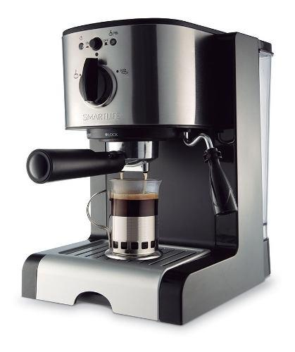 Cafetera Expresso Smart Life Sl-ec4637 2200w 15 Bares 2 Lts
