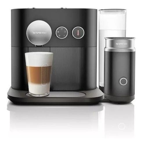 Cafetera Nespresso Expert&milk Black C85 Con Bluetooth