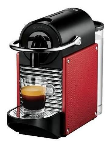 Cafetera Nespresso Pixie + Cápsulas