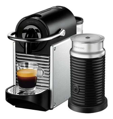 Cafetera Nespresso Pixie Pack + Aeroccino3