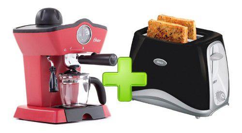 Cafetera Oster 4188 Hidropresion + Tostadora Oster Oferta !