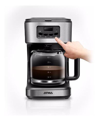 Cafetera Programable Digital Atma - 1.8 Litros - 12 Pocillos