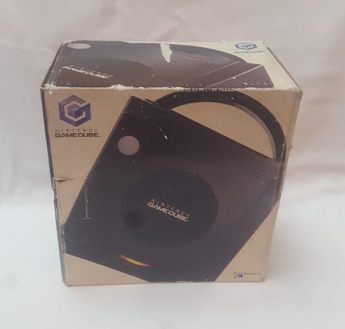 Caja Original Nintendo Gamecube Color Negro Buen Estado