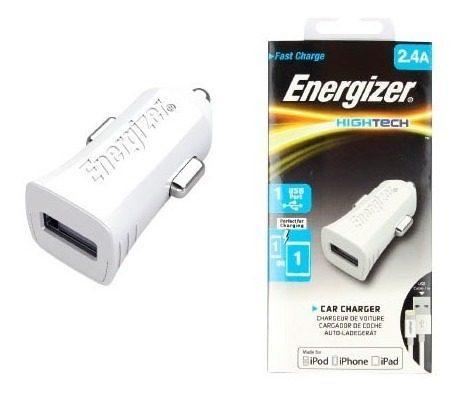 Cargador Para Auto Energizer 2.4a 1 Usb