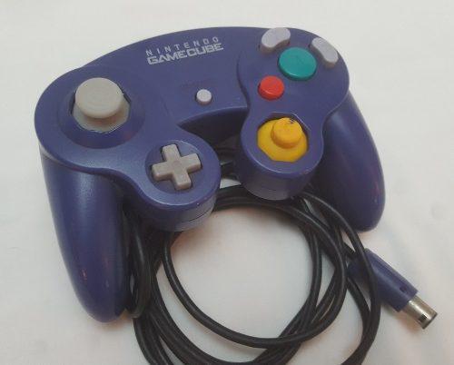 Control Nintendo Gamecube Original Índigo Buenas