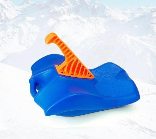 Deslizador Culipatin Trineo Cd Con Palanca Azul Nieve