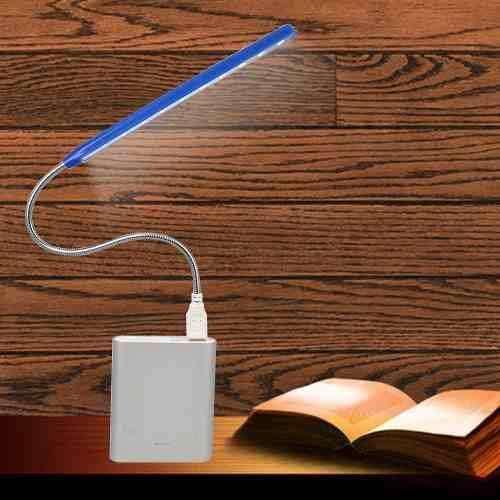 Lámpara De Lectura Flexible 28 Leds Usb Pc Notebook