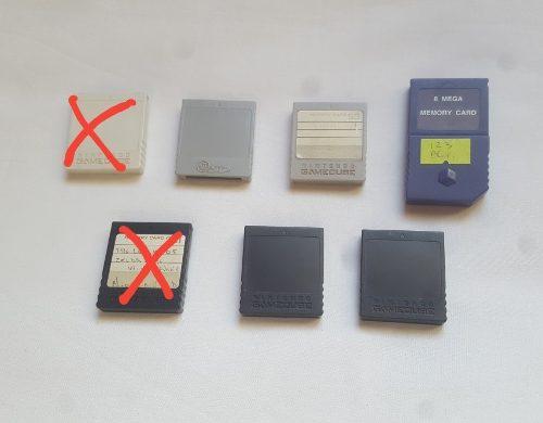 Memory Memoria Nintendo Gamecube Original Varios Bloques