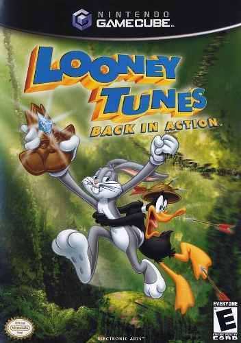 Nintendo Gamecube Looney Toons Original Usado Impecable