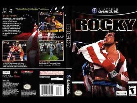 Nintendo Gamecube Rocky Original Usado En Caja Inconseguible