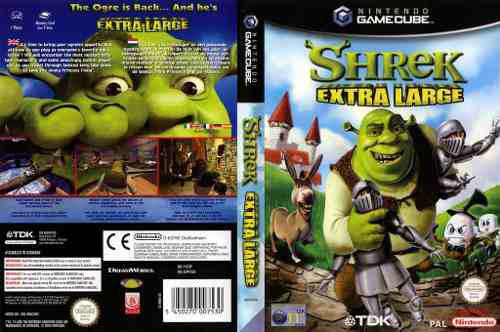 Nintendo Gamecube Shrek Extra Large Original Usado Impecable