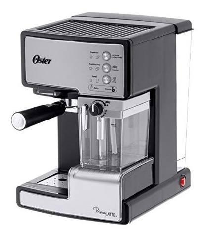 Oferta! Cafetera Expresso Oster Prima Latte 6602 Plata