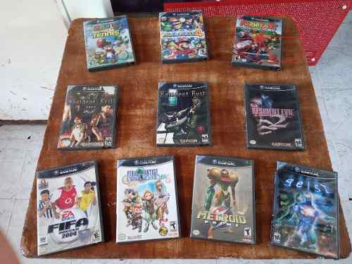 Pack Juegos Nintendo Gamecube Original