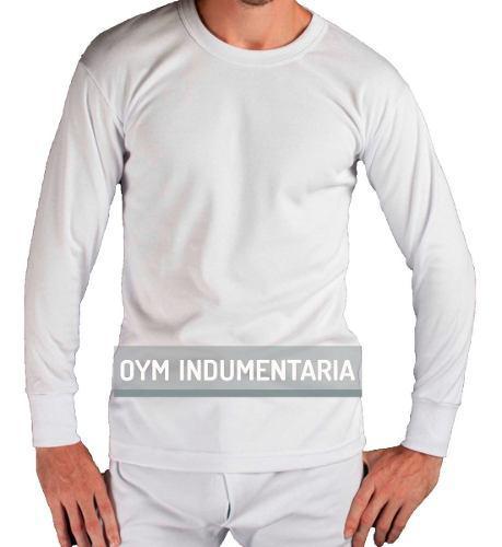 Remera Camiseta Termica Hombre Manga Larga Escote O Y V