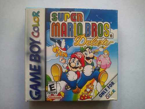Super Mario Deluxe Completo Coleccion Game Boy Color Loop123