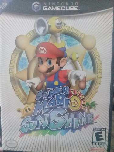 Super Mario Sunshine Gamecube Coleccion