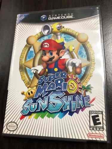 Super Mario Sunshine - Gamecube Completo