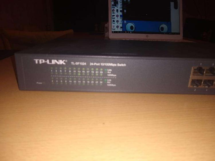 Switch Tp Link Sf1024. 24 Puertos