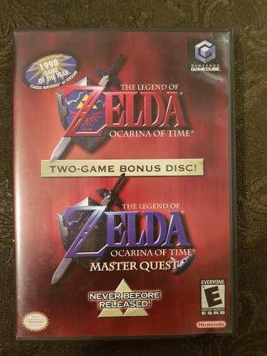 The Legend Of Zelda Ocarina Of Time Ntsc Gamecube Usado