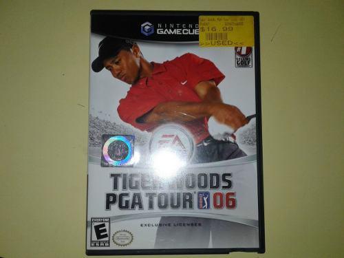 Tiger Woods Pga Tour 06 Juego De Golf Para Nintendo Gamecube