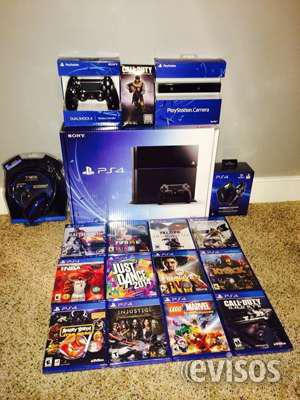 Venta sony ps4 console más cuatro juegos $100 promoción en