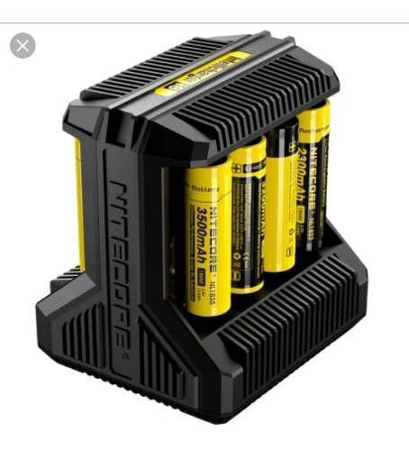 Cargador Inteligente De Bateria De Litio Nitecore I8