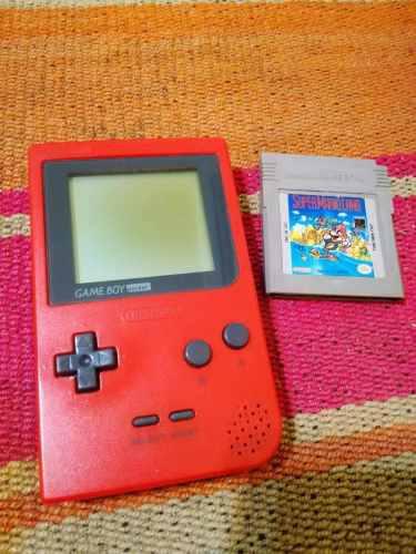 Consola Nintendo Game Boy Pocket + Juego Super Mario Land