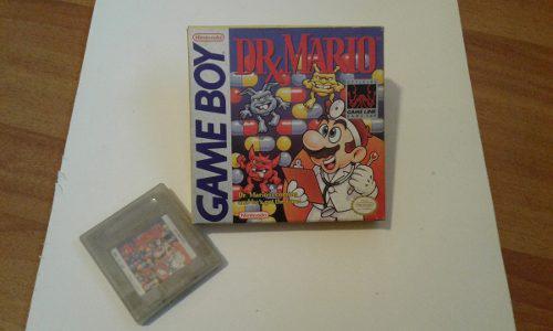 Dr. Mario / Juego De Game Boy Original