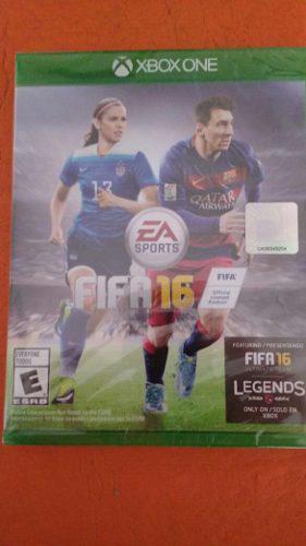 Fifa 16 Xbox One Juego Físico Nuevo Sellado En Caja