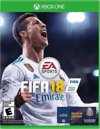 Fifa 18 Xbox One Juego Nuevo Original Físico Español