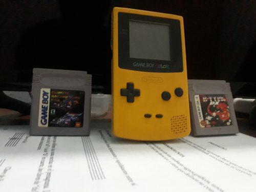 Game Boy Color Con 2 Juegos!