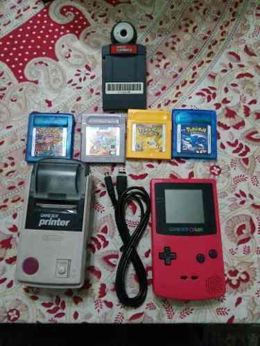Game Boy Color, Roja.