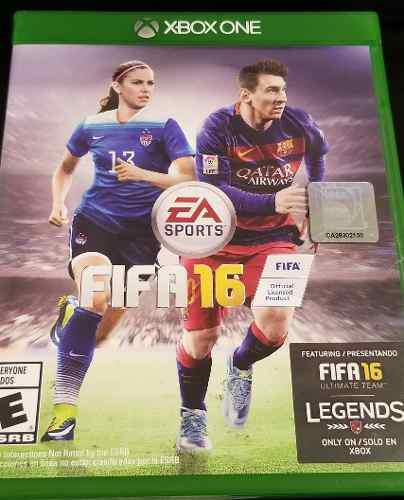 Juego Xbox One Fifa 16 Excelente Estado Futbol Gabo Games