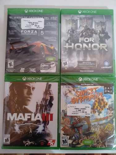 Lote 4 Juegos Xbox One Nuevos Sellados Fisicos