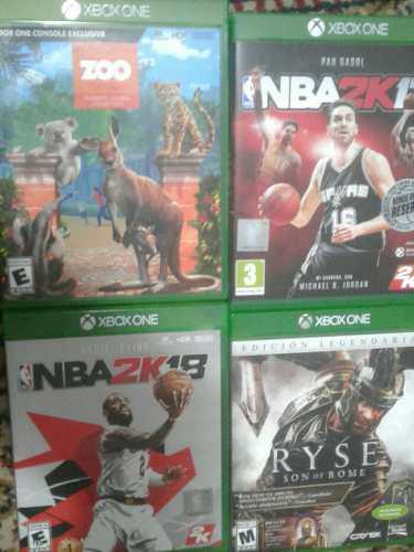 Lote De Juegos De Xbox One.