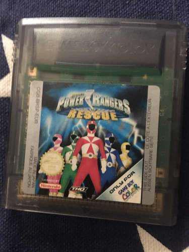 Nintendo Game Boy Color Power Rangers
