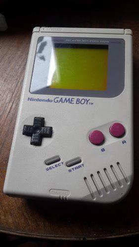 Nintendo Game Boy Original + Tetris + Mario + A Gameboy 1989