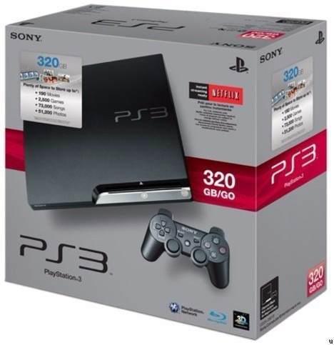 Play Station 3 Slim 320gb 1 Joystick Original Como Nueva!