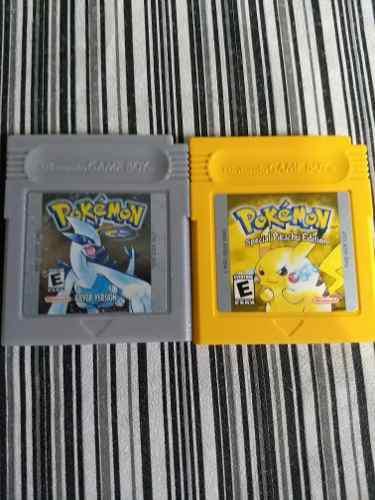 Pokemon Amarillo Y Plata En Ingles Original