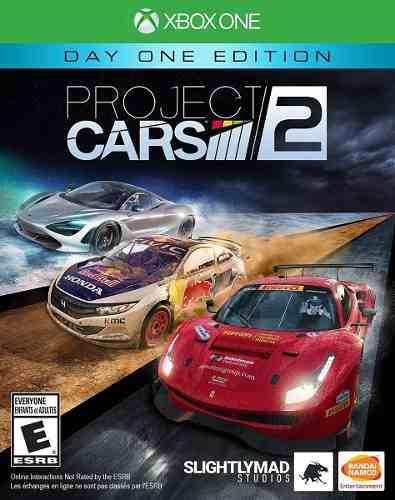 Project Cars 2 Xbox One Juego Original Físico Cd Sellado
